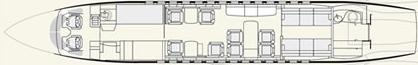 Falcon 7x Floorplan