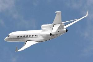 Charter a Falcon 7X heavy jet