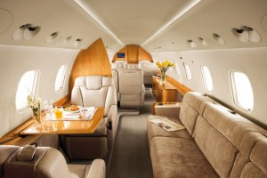 Legacy 600 cabin 3 zones from Embraer