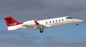 Charter mid-sized jets Learjet 60