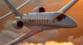 jet charter to Las Vegas on a Citation Sovereign super midsize jet or heavy jet for your next private air charter trip.