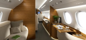 Charter a Falcon 7X for comfort