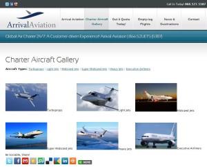 Charter Aircraft Gallery